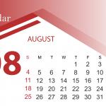 Free 2019 August Calendar Template