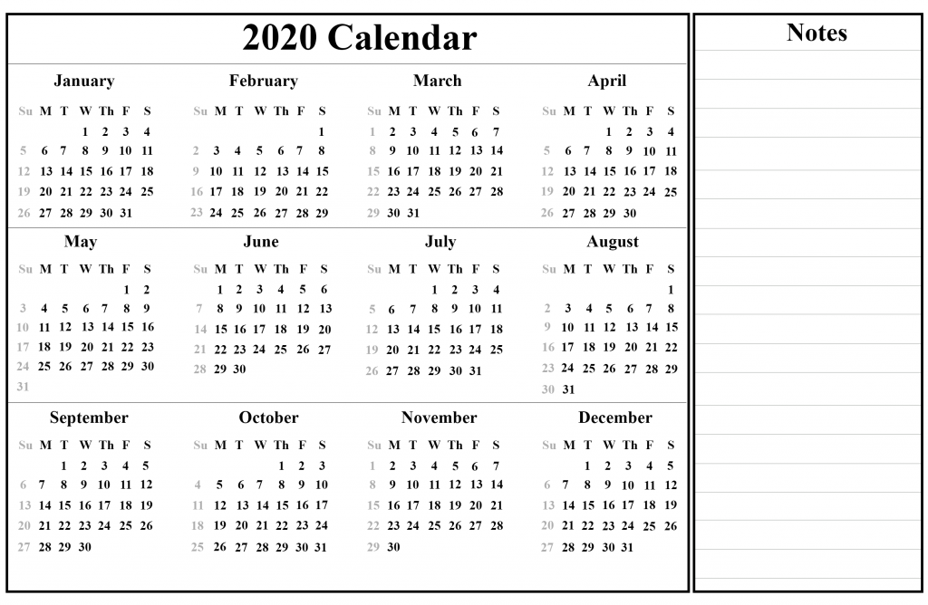 Printable Australia 2020 Holiday Calendar Excel Template