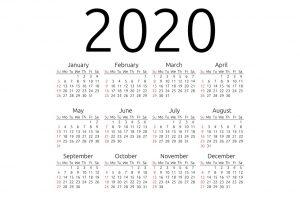 Printable Calendar Templates 2020