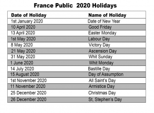 Melbourne 2020 Public Holiday Calendar