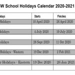 New South Wales School Holidays