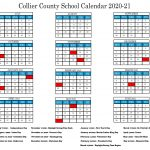 Collier County School Calendar