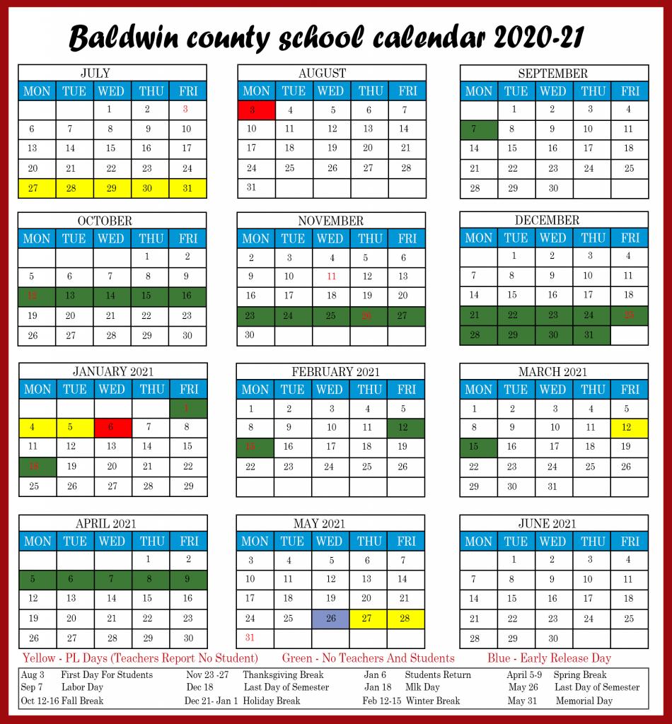 Baldwin County Public Schools In 2020